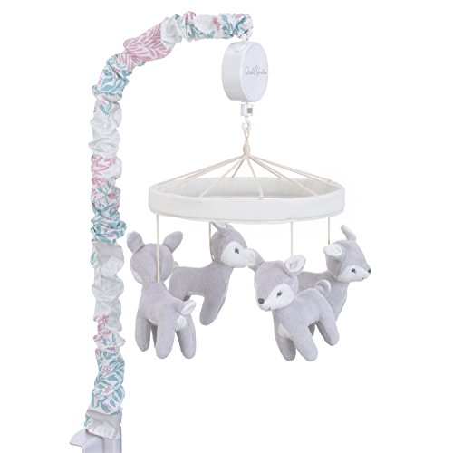 Dwell Studio Sweet Fawn Deer/Forest Musical Mobile, - Mobile Craft Crown