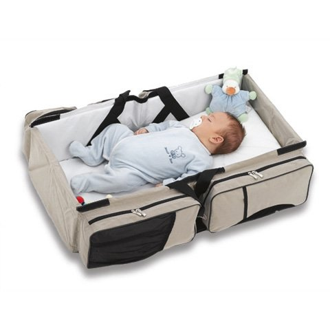 cdc66dbd412 Delta Baby Travel Nursery Bag   Carrycot 2 in 1 bag