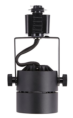 Cloudy Bay LED Track Light Head,CRI 90+ Warm White Dimmable,Adjustable Tilt Angle Track Lighting Fixture,8W 40° Angle for Accent Retail,Black Finish Halo Type by Cloudy Bay (Image #4)