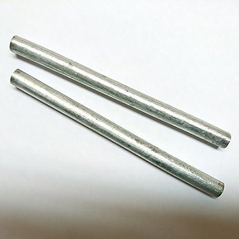 f/ür Elektrolyt Electroplating Stylus Anode Victims Anode Zinc 100//≠ 8 1 Zinc Bar Anode//Electrode 10/cm x 7/mm