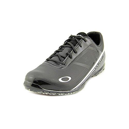 Oakley Men's Cipher 2 Golf Shoe,Black/Silver,10.5 2E US