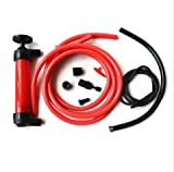 Siphon Fuel Transfer Pump Kit for Gas Oil and