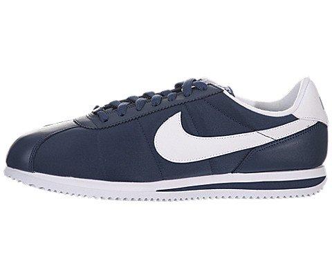 Nike Cortez Basic Nylon '06 - Squadron Blue / White-White, 10 D US