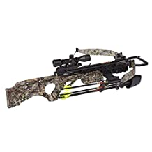 Excalibur Crossbow Matrix SMF Grizzly Crossbow with Lite Stuff Package/Vari-Zone Scope (Draw Weight : 200-Pound), Mossy Oak Break-Up Country, Recurve