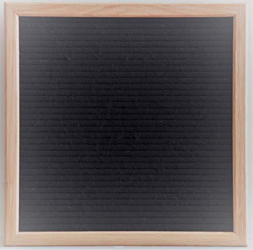 Modern Retro Black Felt Letter Board 12