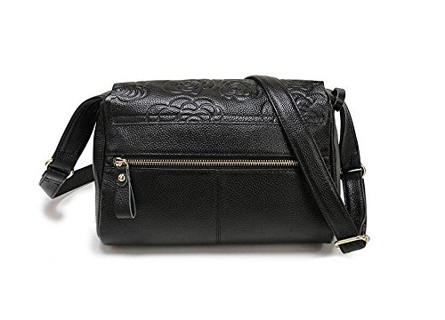Shining Kids Bolsos De Cuero Impresos Cuero Simple Messenger Bag Shoulder Bag Casual Bag,1 2