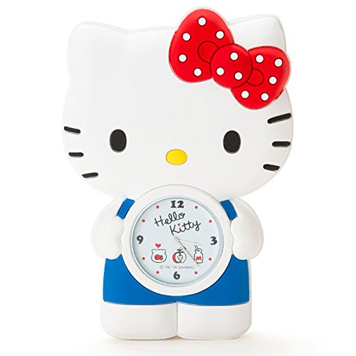 Price comparison product image [Hello Kitty] Watch Hello Kitty shaped magnet clock