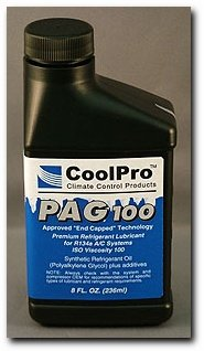 CoolPro PAG 100 Aftermarket Approved Oil, 8 oz (CP5013)