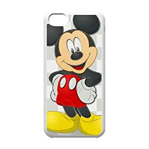 Personalized Durable Cases Ggftn Ipod Touch 6 Cell Phone Case White Lovely Mickey Mouse Cute Protection Cover