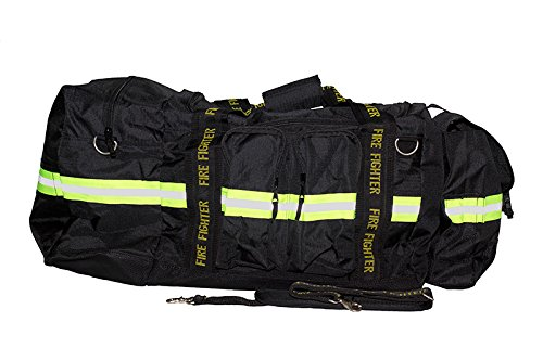 Black Bunker Gear Bag - 5