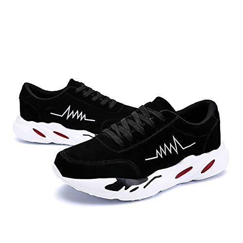 shoes Uomo EU 40 Shufang Nero Mocassini Nero CdqxEwR