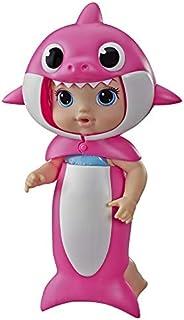 Boneca Baby Alive Baby Shark Loira - Com fantasia especial de tubarão removível - E8594 - Hasbro