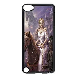 [Tony-Wilson Phone Case] FOR Ipod Touch 5 -IKAI0447038-Unicorn Pattern