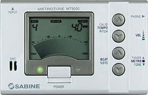 Sabine MT9000 MetroTune Chromatic Tuner and Metronome (LCD)
