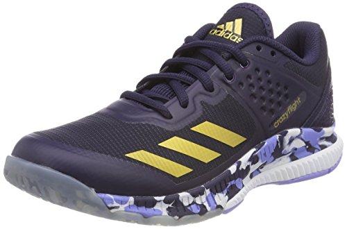 Adidas Damen Crazyflight Rimbalzo W Volleyballschuhe Blau (inchiostro Nobile / Oro Metallizzato / Viola Gesso)