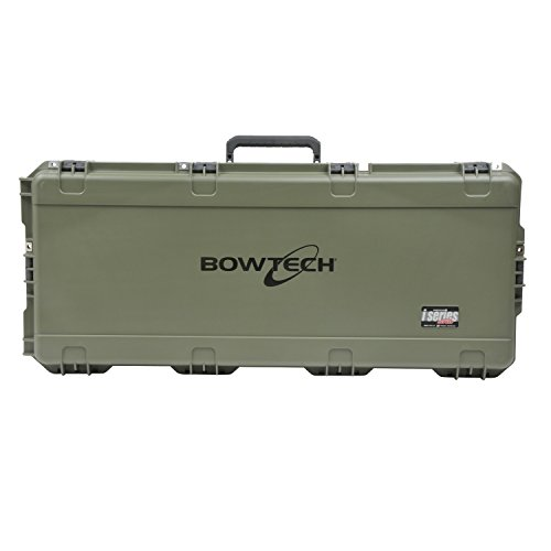 SKB Corp Bowtech Iseries Parallel Limb Single Bow Case, Gree