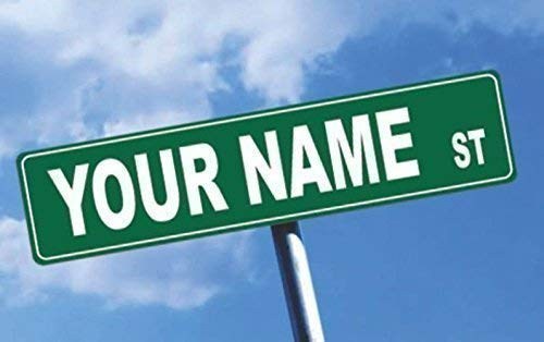 Personalized Street Signs >> Amazon Com Personalized Street Sign Custom Name Sign Personalized
