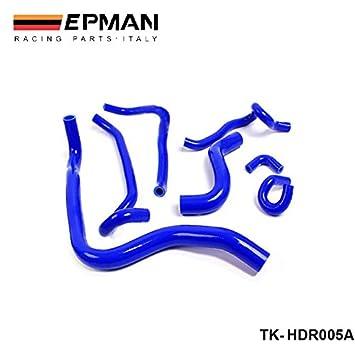 Silicona turbo kit de la manguera del radiador intercooler EPMAN-Racing 7 PC de Honda Accord SIR CL4 F20B 97-01 (7pcs) TK-HDR005A: Amazon.es: Coche y moto