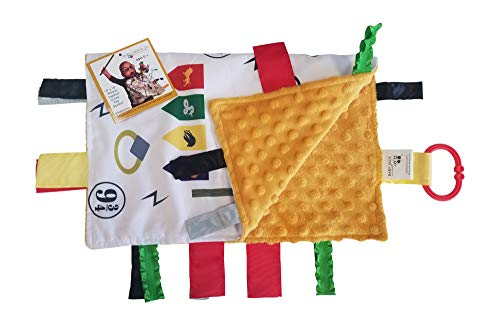Educational Learning Lovey Ribbon Tag Security Blankets (Wizard)]()