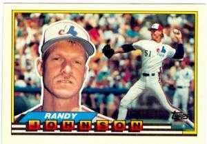 Gift Idea Randy Johnson Baseball Card 1989 Topps Big 287 Montreal Expos Rookie By Autograph Warehouse B00BB6JREM