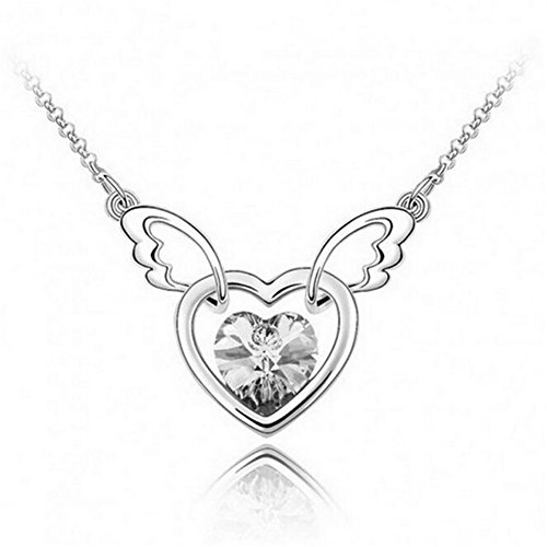 next-fri-korean-austrian-crystal-angel-wings-peach-heart-pendant-lady-jewelry-necklacecrystal