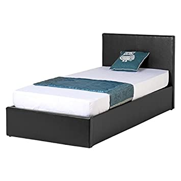 Seconique Waverley Leather Ottoman Bed Frame 3ft Single Bed Frame