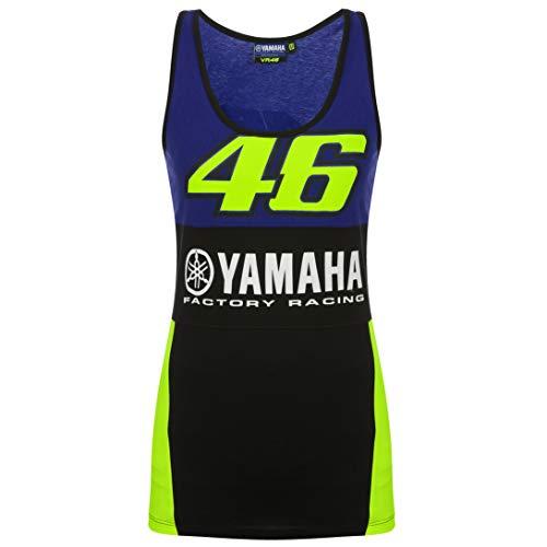 (2019 Valentino Rossi VR46 Womens Tank Top Ladies Girl Vest Yamaha Factory)