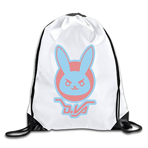 Price comparison product image LHLKF DVA LOGO Over First-person Shooter Video Game Watch One Size Cool Travel Bag