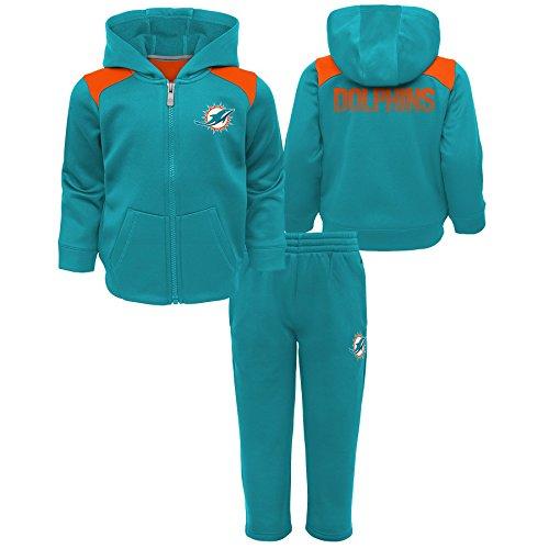 Infant Aqua Apparel - Outerstuff NFL Miami Dolphins Infant Play Action Performance Fleece Set, Aqua, 12 Months