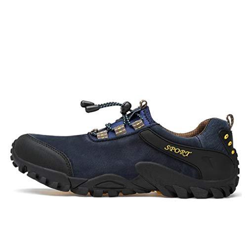 Aire Deporte Bajos Hombres Negro De Tamaño Zapatillas Holgados color Para Hy Libre 38 Calzado Casual Mocasines Y Cordones Sin Herramientas Uso Botas Al Azul Zapatos Y4wawxz