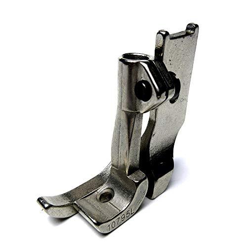 Left Toe Smooth Bottom Walking Foot for Consew Artisan Brother JUKI Singer+ (Juki Lu 563 Walking Foot Industrial Sewing Machine)