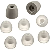Earphones Plus EP-APP-3PR-S Replacement Earbud Tips, Replacement Earphone Cushions for Apple, Clear
