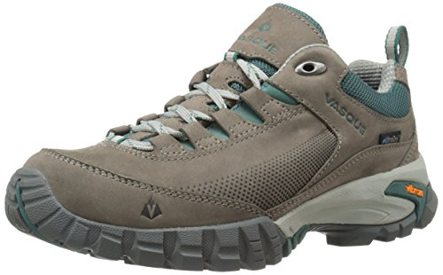 Vasque Women's Talus Trek Low UltraDry Hiking Shoe, Gargoyle/Jasper, 7 M US