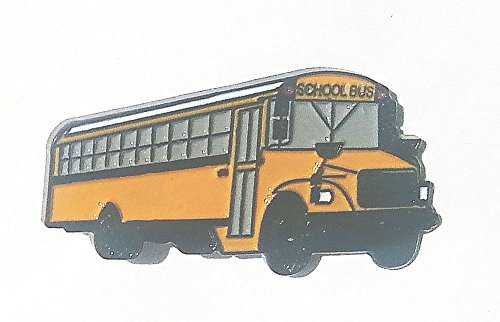 Thomas School Bus Lapel Pin (School Bus Pins)