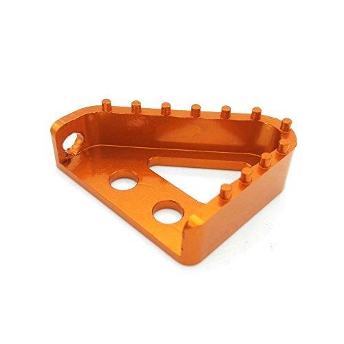 Billet Products Brake Pedal (Heinmo Billet Motocross Rear Brake Pedal Step Plate Tip for KTM 65 85 125 530 SX SXF)