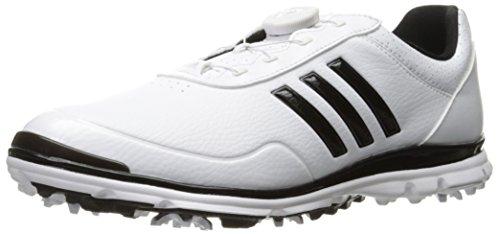 (adidas Women's Adistar Lite BOA Golf Shoe, White, 7 M US)