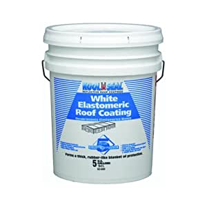 KST COATINGS  KST062600-20    Elastomeric Roof Coating 5-Gallons