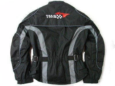 TMS Mens Enduro Armor Jacket Motorcycle Touring Dual Sport Dirt Bike ATV (X-Large, Black)