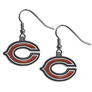 NFL Chicago Bears Dangle Earrings
