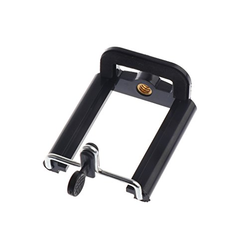 MonkeyJack Stand Clip Bracket Holder Monopod Tripod Mount Adapter for Selfie Stick for Phone Camera iPhone X/ 8/8 Plus 7/ 7 Plus/ 6S/ 6S Plus, Galaxy S7 Edge/ S7 / S8 / S8+ S8 Plus,G6 by MonkeyJack (Image #7)