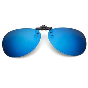 JINGJING Prensa-Tipo pequeño Clip miopía Gafas de Sol ...