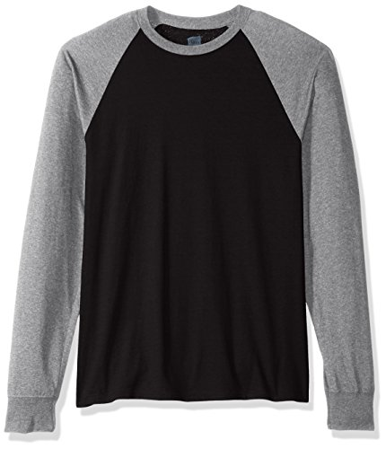 Hanes Men's Long Sleeve ComfortBlend Raglan Tri-Blend Tee