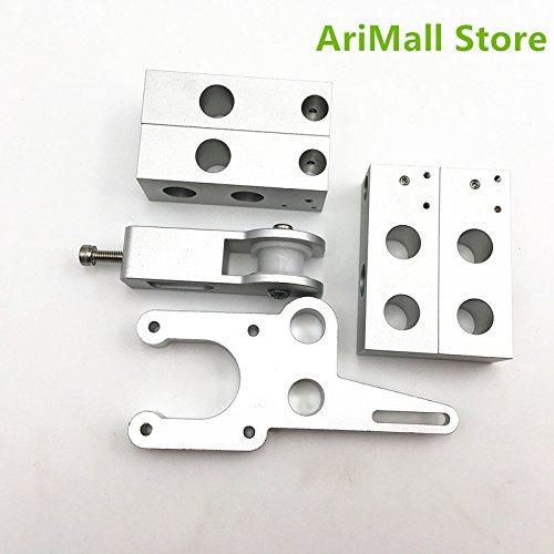 WillBest 8mm Rod Type Y Bed Upgrade CNC Aluminum Y-Motor Mount Sturdier Y Idler Y Corner kit for DIY Reprap Mendel Prusa i3 rework by WillBest