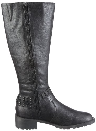 Queens ECL 1103 1952600 Damen Stiefel Schwarz/Black