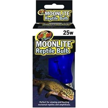 Amazon Com Zoo Med Moonlite Reptile Bulb 25 W