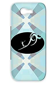 Art Design Illustration Surfer Black For Sumsang Galaxy Note 2 Case Cover