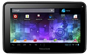 """Visual Land Prestige 7L - 7"""" Android Tablet with 8GB Memory (Black)"""