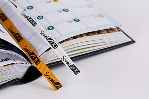 ScuolaZoo Diario 2020-2021 Datato 16 Mesi Limited Edition, Classic 11x15 cm (Nero Metallizzato) 3