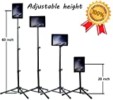 Ipad Tripod Stand, Vstyle Height Adjustable 20 to