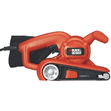 BLACK+DECKER BR318 3-by-18-Inch Low Profile Belt Sander